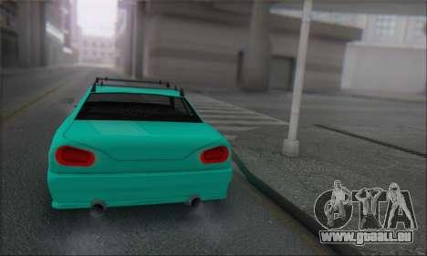 Elegy Min.Korch pour GTA San Andreas vue de droite