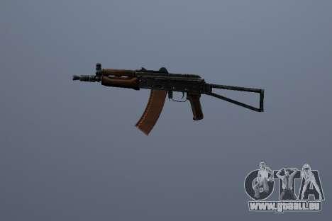 AK-74U pour GTA San Andreas