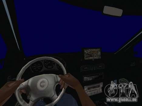 Subaru Forester 1998 pour GTA San Andreas vue arrière