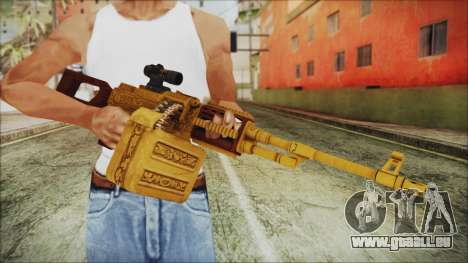 GTA 5 MG from Lowrider DLC für GTA San Andreas dritten Screenshot