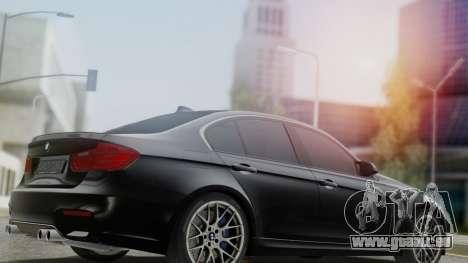 BMW M3 F30 SEDAN für GTA San Andreas linke Ansicht