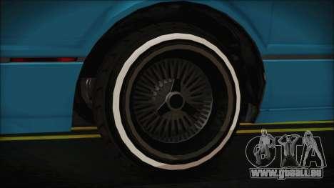 GTA 5 Albany Primo Custom Bobble Version IVF pour GTA San Andreas vue de droite