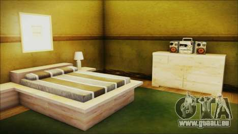 CJ House New Interior pour GTA San Andreas quatrième écran