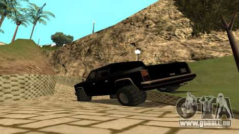 FBIranch By MarKruT für GTA San Andreas linke Ansicht
