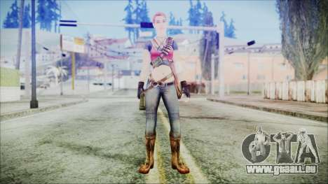 Evelyn from Contract Killer Zombies pour GTA San Andreas deuxième écran