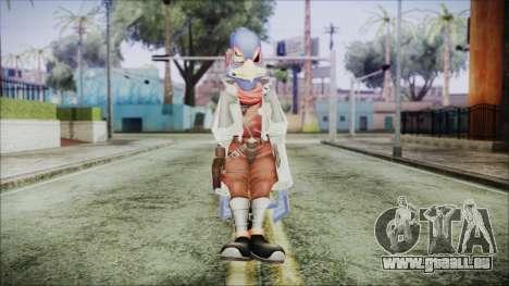 Falco Lombardi pour GTA San Andreas deuxième écran