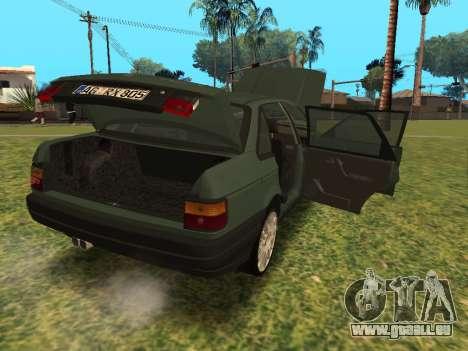 Volkswagen Passat B3 für GTA San Andreas Rückansicht