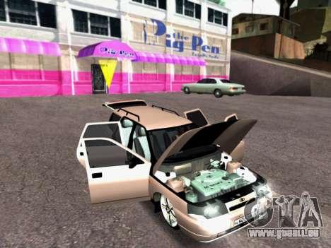 VAZ 2111 Tuning pour GTA San Andreas vue intérieure