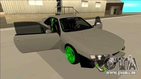 Nissan Silvia S14 Drift Monster Energy für GTA San Andreas Unteransicht
