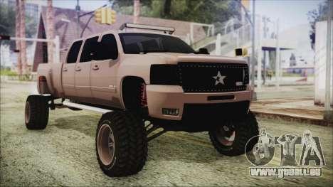 Chevrolet Silverado Triple Door pour GTA San Andreas