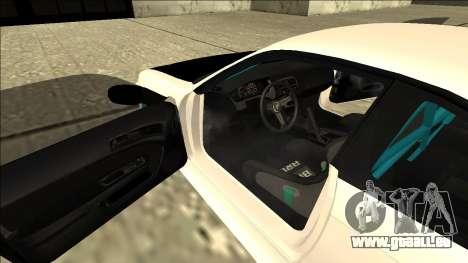 Nissan Silvia S14 Drift pour GTA San Andreas vue de dessous