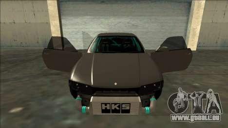 Nissan Skyline R33 Drift pour GTA San Andreas vue de dessus