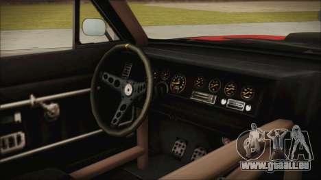 GTA 5 Declasse Tampa IVF pour GTA San Andreas vue de droite