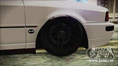 Audi 80 B4 RS2 New für GTA San Andreas zurück linke Ansicht
