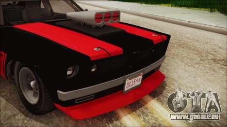GTA 5 Declasse Tampa IVF für GTA San Andreas Rückansicht