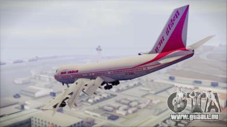 Boeing 747-237Bs Air India Rajendra Chola für GTA San Andreas linke Ansicht