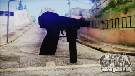 TEC-9 Multicam pour GTA San Andreas deuxième écran