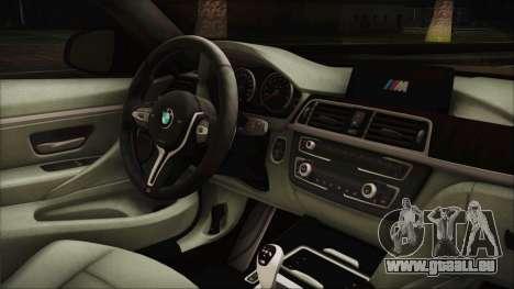 BMW M4 Coupe für GTA San Andreas rechten Ansicht