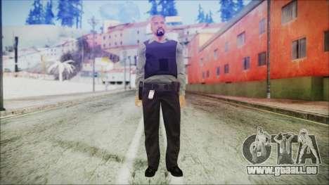 GTA 5 Ammu-Nation Seller 3 pour GTA San Andreas deuxième écran