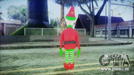Christmas Elf v1 pour GTA San Andreas troisième écran