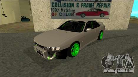 Nissan Silvia S14 Drift Monster Energy für GTA San Andreas