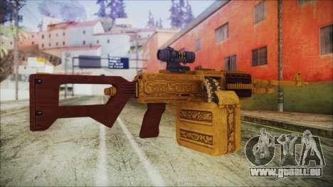 GTA 5 MG from Lowrider DLC für GTA San Andreas zweiten Screenshot