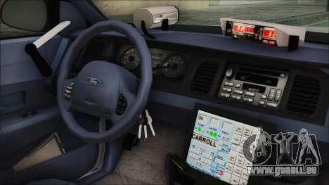 Ford Crown Victoria Miami Dade v2.0 für GTA San Andreas rechten Ansicht
