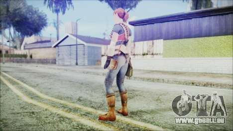Evelyn from Contract Killer Zombies für GTA San Andreas dritten Screenshot