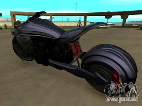 Krol Taurus concept HD ADOM v2.0 pour GTA San Andreas sur la vue arrière gauche
