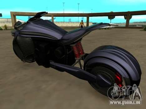 Krol Taurus concept HD ADOM v2.0 für GTA San Andreas zurück linke Ansicht
