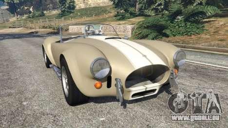AC Cobra v1.3 pour GTA 5
