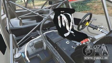 GTA 5 Nissan GT-R Nismo GT3 rechte Seitenansicht