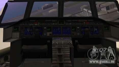 GTA 5 Cargo Plane für GTA San Andreas Rückansicht