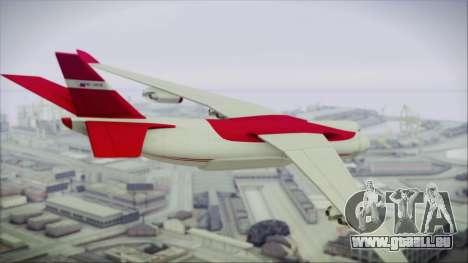 GTA 5 Cargo Plane für GTA San Andreas linke Ansicht