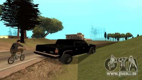 FBIranch By MarKruT pour GTA San Andreas vue de droite