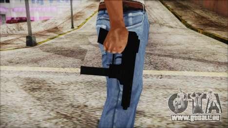 TEC-9 Multicam pour GTA San Andreas troisième écran
