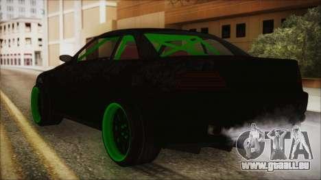 GTA 5 Sentinel RS pour GTA San Andreas laissé vue