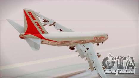 Boeing 747-237Bs Air India Chandragupta pour GTA San Andreas laissé vue