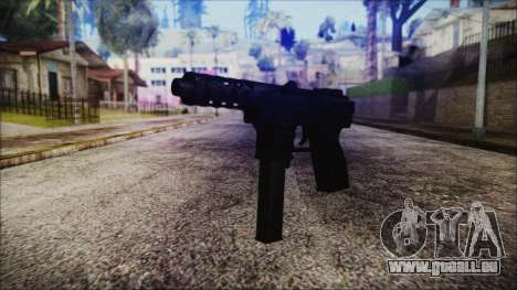 TEC-9 Tiger Stripe für GTA San Andreas