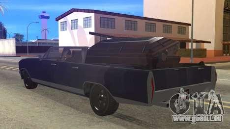 GTA 5 Albany Lurcher Cabrio Style für GTA San Andreas linke Ansicht