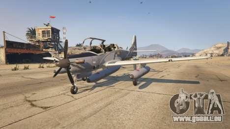 GTA 5 Embraer A-29B Super Tucano House zweite Screenshot