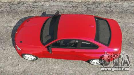 GTA 5 BMW M235i (F22) 2014 Rückansicht