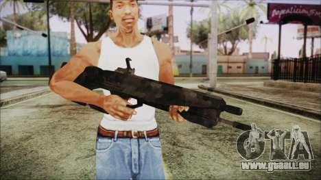 Cyberpunk 2077 Rifle Camo pour GTA San Andreas troisième écran