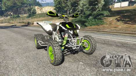 Yamaha YZF 450 ATV Monster Energy pour GTA 5