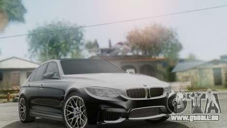 BMW M3 F30 SEDAN für GTA San Andreas