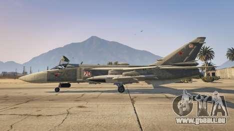GTA 5 SU-24M zweite Screenshot