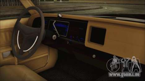 Dodge Monaco 1974 SFPD pour GTA San Andreas vue de droite