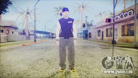 GTA Online Skin 57 pour GTA San Andreas deuxième écran