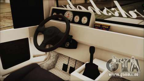 Markshop Jeepney für GTA San Andreas rechten Ansicht