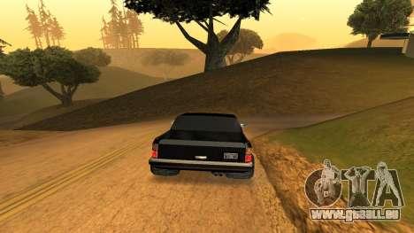 FBIranch By MarKruT pour GTA San Andreas sur la vue arrière gauche